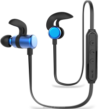 Popular lightweight Handfree Sport Earphone In-ear Wireless Stereo Headphone Bluetooth Headset with BQB certificate