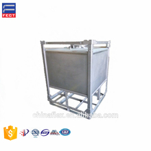 Stainless Steel Containers Storage Tank For ISO Chemical Industries