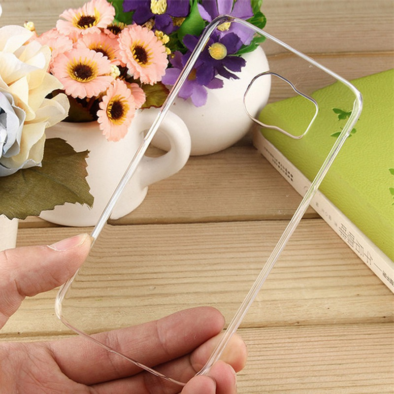 Pvc Transparent Crystal Back Case For Samsung C6712