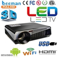 video 3d projetor proyector projecteur led projector mini 650ansi led lamp 3d shutter dlp projector
