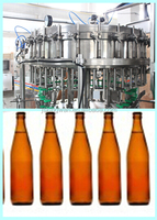 beer bottle processing machine/drink production line/alcohol soft drinks