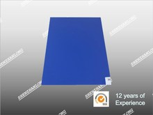 "Clean room step sticky mat for industrial,18""*36"",30 layers,Blue/White PE film"