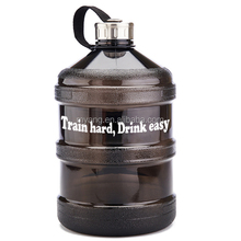 1 Gallon BPA FREE FDA Approved Round Reusable Plastic Drinking Water Big Mouth fitness gym Bottle