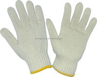 Cotton interlock gloves