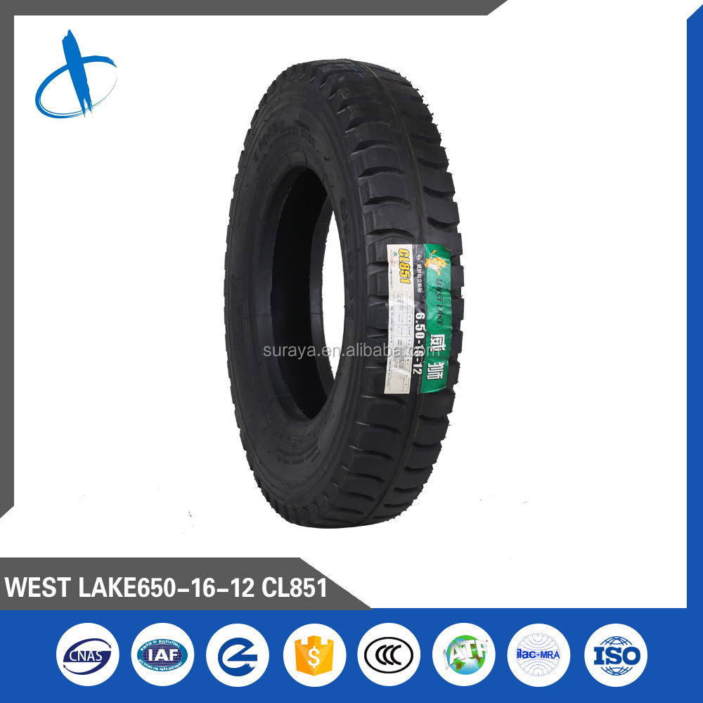 LIGHT TRUCK BIAS TYRE, BRAND WEST LAKE, PATTERN CL851, 6.50-16--8.25-16LT
