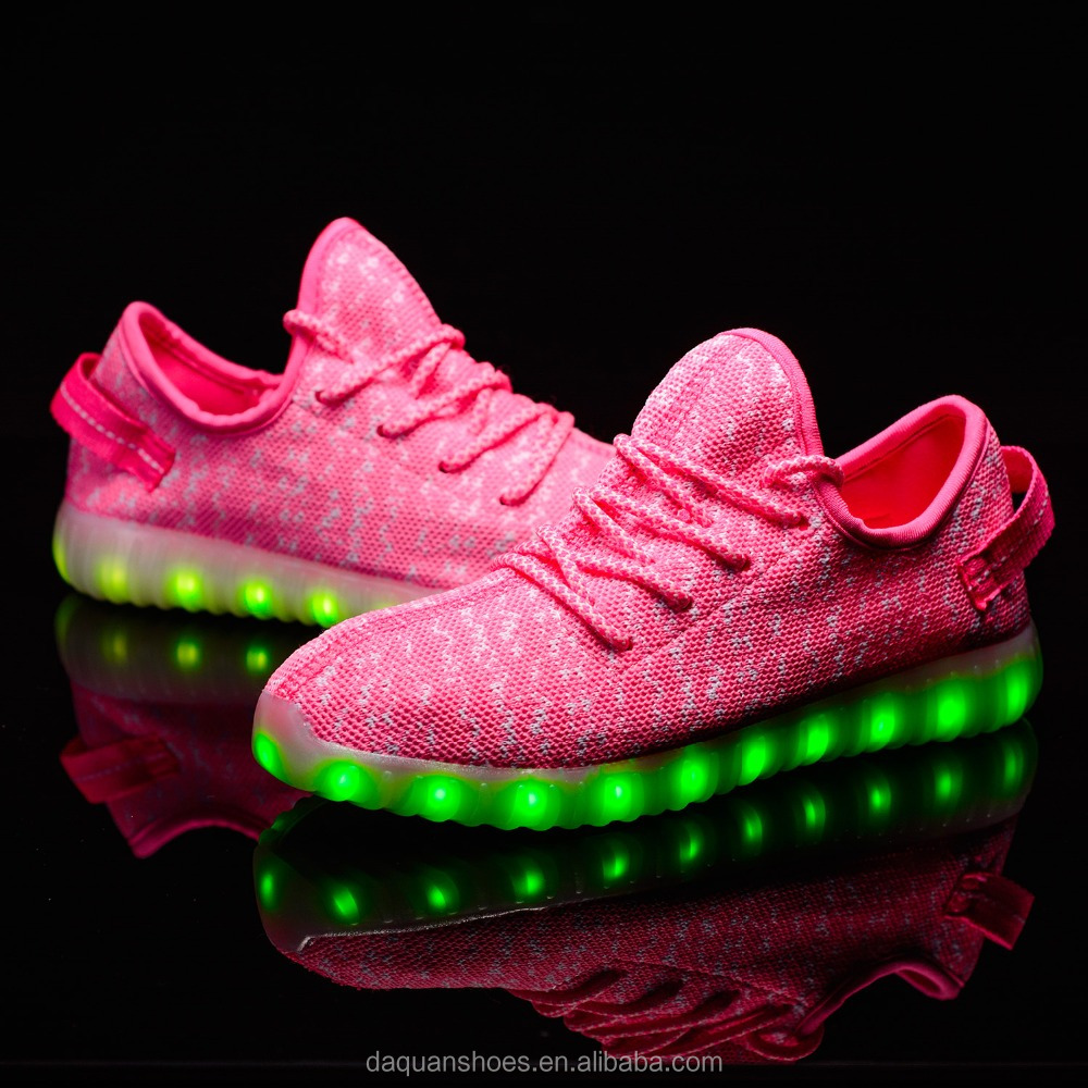 VIPFOX led light shoes 2017 New Style Colorful Casual Changeable 7 Color light up led shoes
