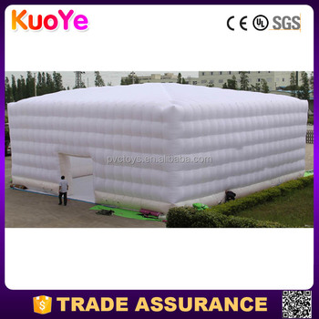 hot sale factory supply big cube inflatable event tent,inflatable party tent