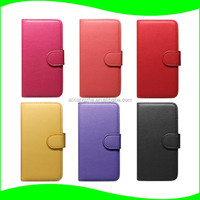 Latest Popular Hard PU Leather Card Slots Hybrid Case for Sony xperia xa ultra C6 Flip Case Cover