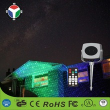 Green and Blue Decorative Garden Outdoor Laser Christmas Light Projector