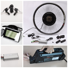2016 26 Inch Ebike Parts 500W Hub Motor With Battery
