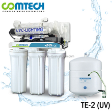 7-Stage RO Water Filtration System with Alkaline Filter n Nano Silver Cartridge