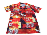 Micro polyester mens hawaiian shirts wholesale&2016 export hawaiian shirts wholesale