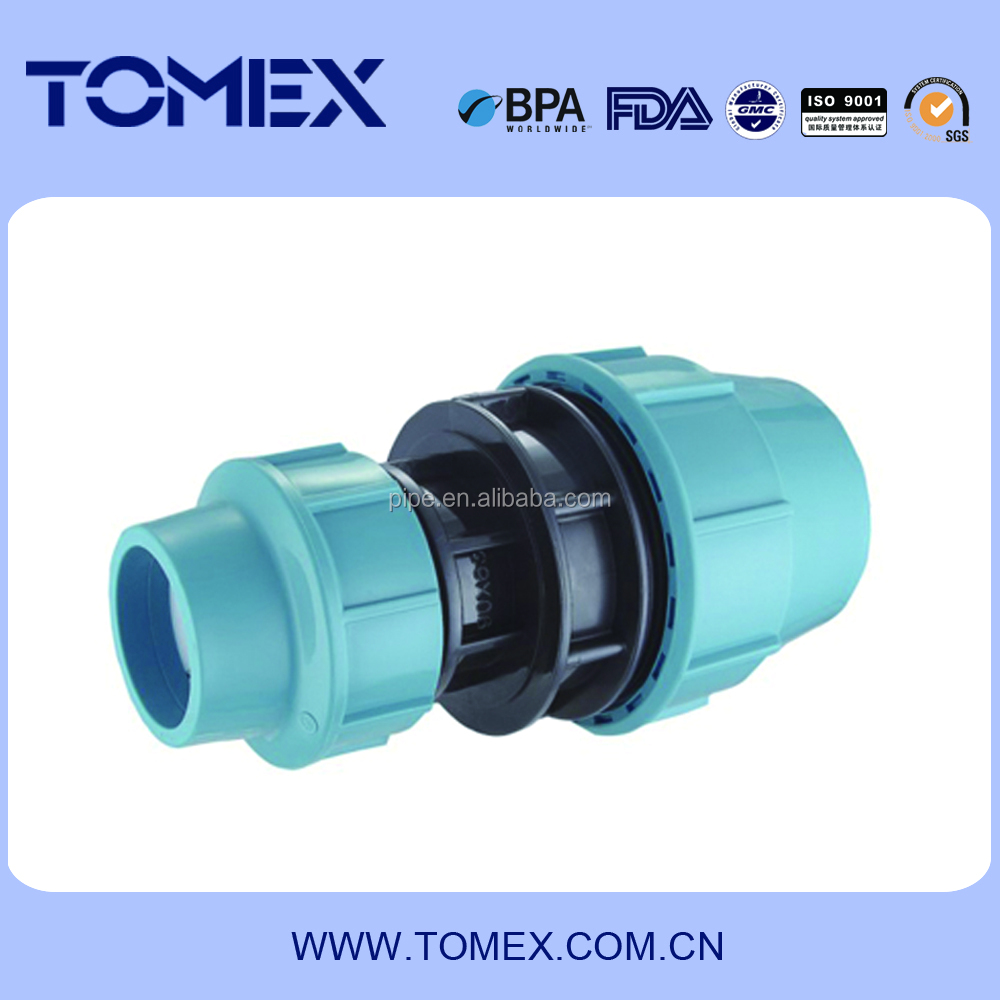 Pp compression fittings accessories pipe and