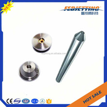 flow cutting machine 45degree abrasive inlet cutting head use diamond orifice and mixing nozzle