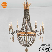turkish big chandelier lighting,retro metal pendant lights with UL/CE