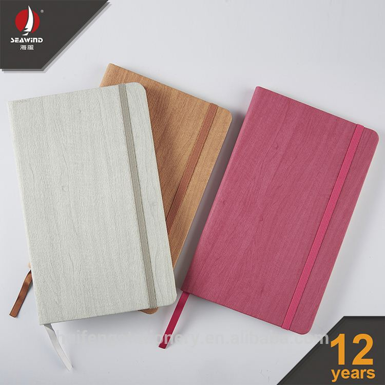 custom chinese character journals HARDCOVER elastic notebook