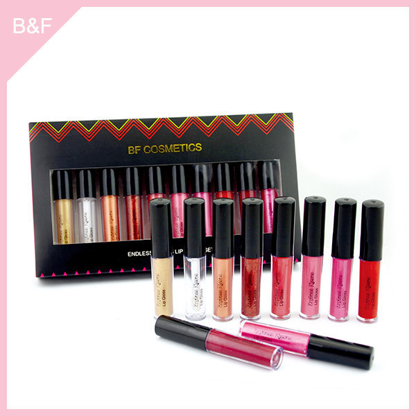 best selling 2015 colorful makeup lip gloss lip balm tubes / lip gloss tubes