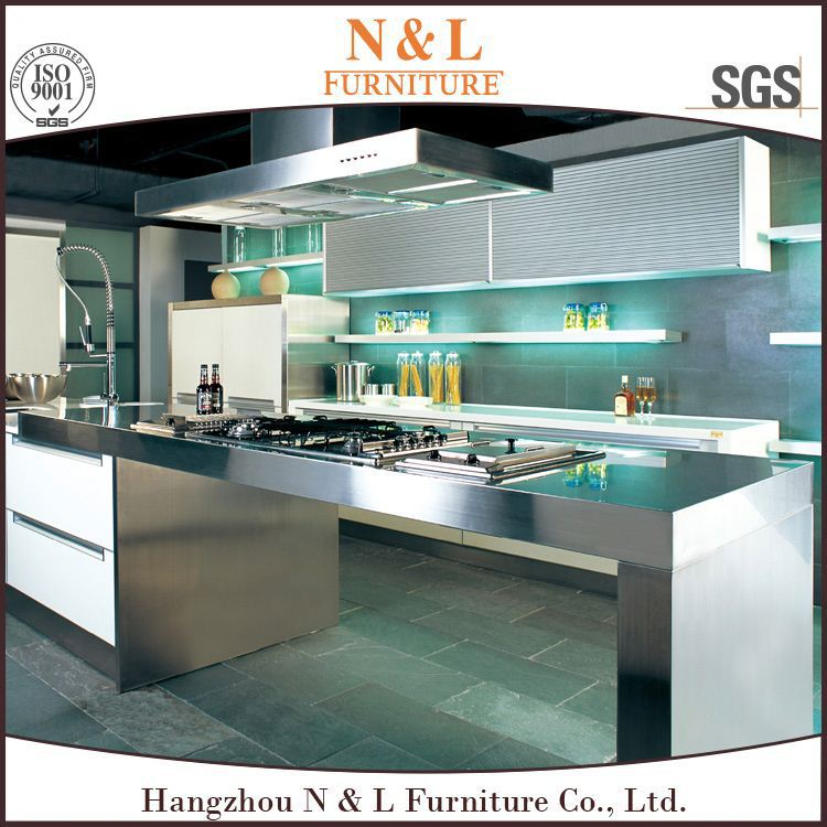 shinning door kitchen cabinet Particleboard Carcase and MDF Door Material Modern Lacquer Kitchen cabinet pvc kitchen cabinets