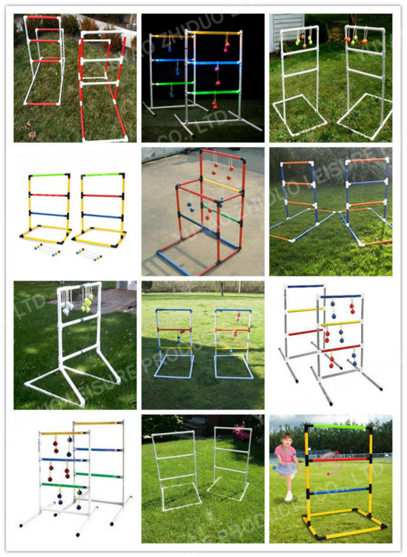 PMS color ladder ball outdoor game toys
