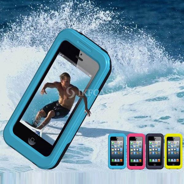 Waterproof Underwater Touchscreen Mobile Phone Pouch Dry Bag Cover Case for HTC M8