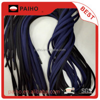 Wholesale high quality polyester shoelace ABS aglets for sale
