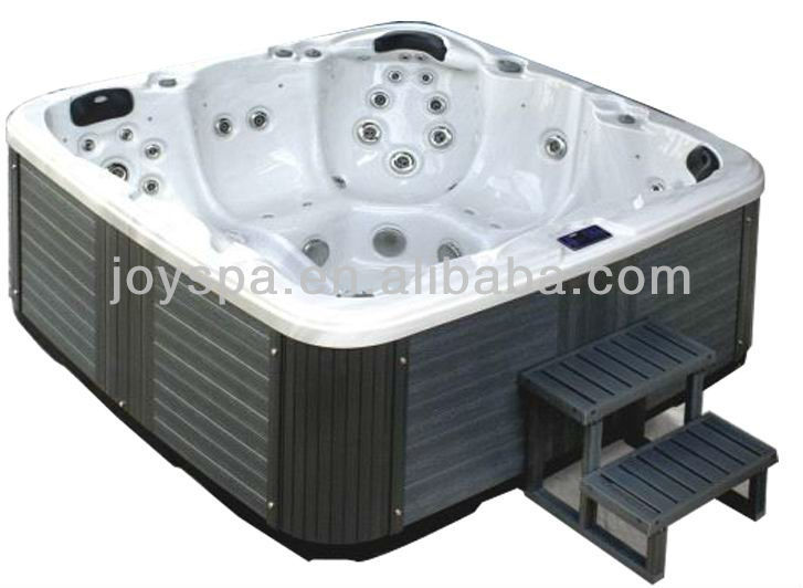 Corner Drain Location and Freestanding Installation Type whirlpool bathtub