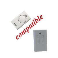 Mini 4 buttons Universal remote control 433 MHz gate Auto Key To GATES FAAC JJ-RC-SM05-FC