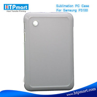 2D pc blank sublimation phone case replacement for samsung galaxy tab gt p3100 p3110