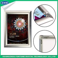 Promotion Aluminum Glossy Right Angle Poster Frame