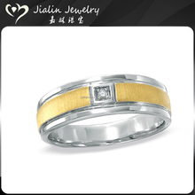 Cheap price customized logo mens gold thumb rings