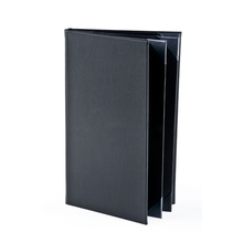 Customized Size Restaurant Leather Menu Card Holder / Personalized Menu Covers Leather / Restaurant Supplies Leather Menu Cover