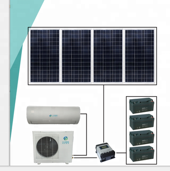 hybrid solar powered air conditioner TKFR-35GW/BP
