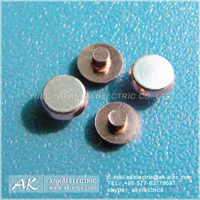 Manufacture Silver Contact Point/Contact Point/Electrical Silver Contact