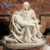 Large famous marble statue Mary cradling the dead body stone Mourning Christ sculpture