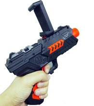 2017 Trending Product Bluetooth Smart VR Gun Shooting Game AR Toys Gun For iPhone and Android Smartphones