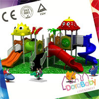 HSZ-KXBS2 Plastic Slides for Outdoor Playground, Animal Theme Outdoor Playground
