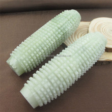 Natural Green Jade Massage Relaxation Roller Massager for Foot Hand Beauty Health Care Slimming Tool