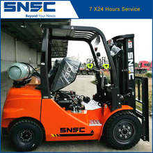 SNSC LPG Solid Tires Forklifts 3T Fork Lifter