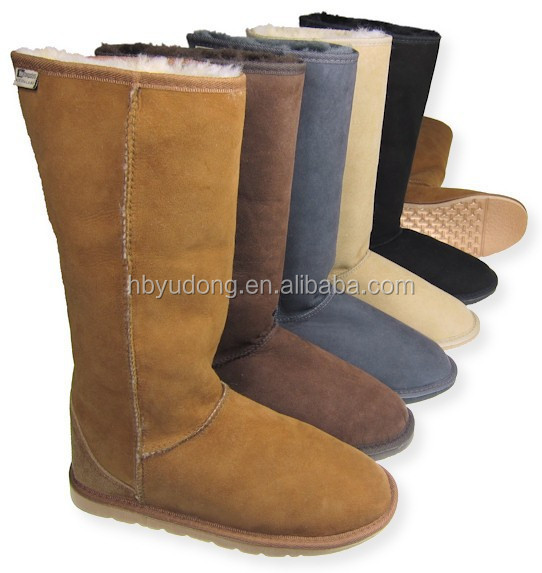 The latest style Warm Australia sheepskin knees boots for women