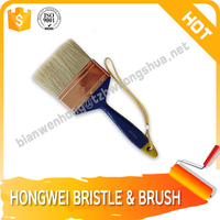 pig hair bristles paint brush of High Quality