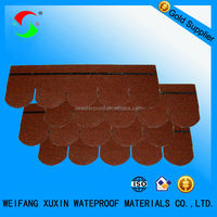 high quality red asphalt shingle for roofing