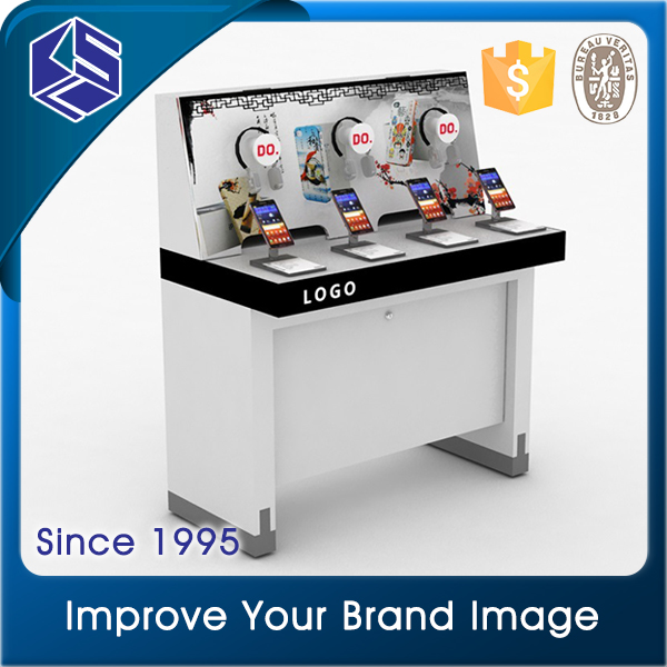 Advertising Equipment cellphone display table for mobile phone store design