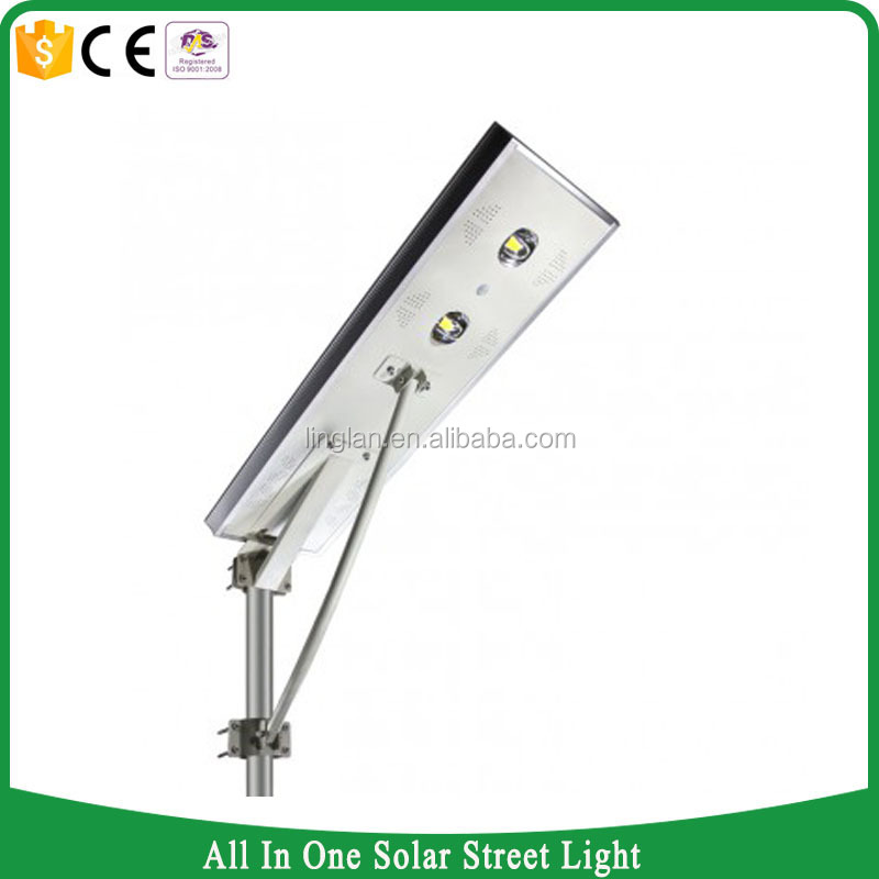 all in one 60w led road light