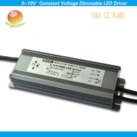 No flicker no noise SAA CE RoHS certificatets rubycon capacitor 150W 24V pwm dimmable led driver