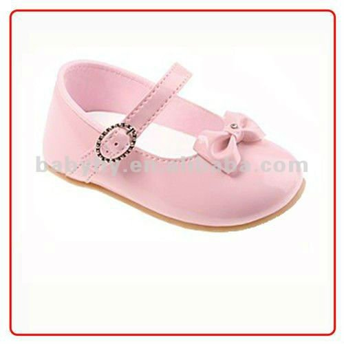 GIRLS BABY SQUEAKY MARY JANE SHOES
