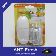 ANT Fresh Touch air freshener spray mini - Recarga - aroma citrico limon - Glade - raro! - NUEVO Lemon