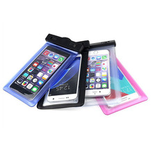 Reliable mobile phone carry bag pvc waterproof moblie phone bag unbreakable waterproof cell phone case
