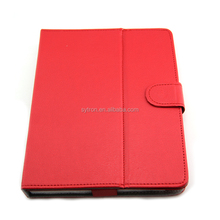 Universal protective cover Pu leather pouch case for 9 inch tablet pc