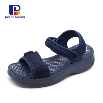 Breathable Traditional Summer Blank Sport Flat Sandals Shoes