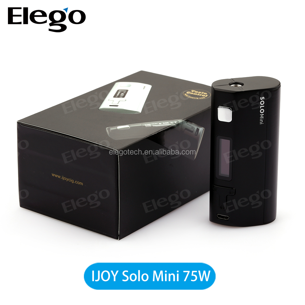 Ijoy Solo Mini 75w Wholesale Huge Vape Cloud Mini 75w Box in stock from Elego